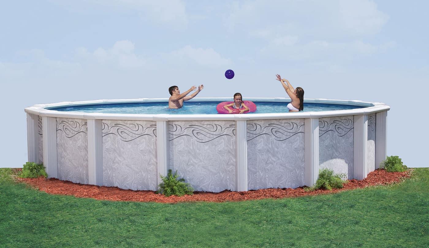 Saratoga Resin Swimming Pool by Doughboy | Sun Pools