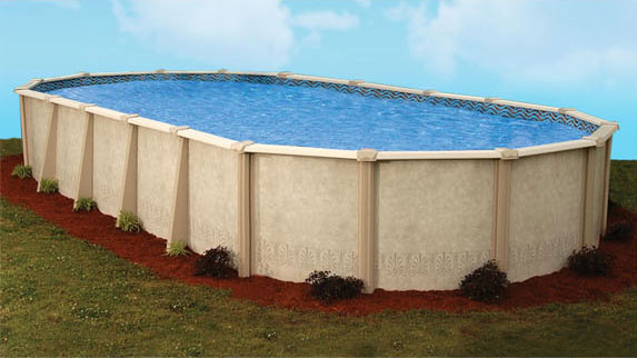 Autumn Breeze Resin Swimming Pool by Doughboy | Sun Pools