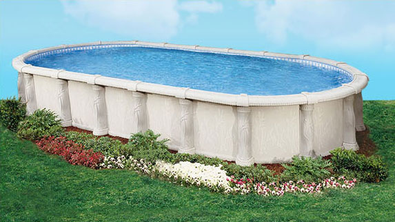 Tuscany Resin Swimming Pool by Doughboy | Sun Pools